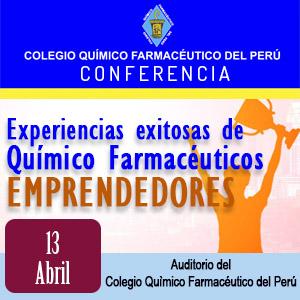 Experiencias exitosas de químico farmacéuticos emprendedores