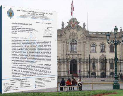 Carta al Presidente de la República sobre Proyectos de Ley Nº1100-2016-CR y Nº1567/2016-CR, Ley que modifica la Ley 27688