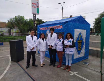 CQFP participó de Campaña de Salud en el AA.HH. Los Viñedos de Surco.