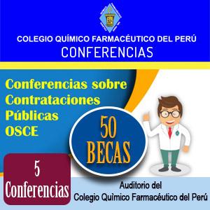 50 Becas para 5 Conferencias sobre Contrataciones Públicas OSCE