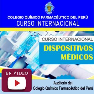 """Curso internacional """"Dispositivos Médicos"""""""