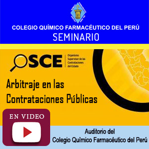 Seminario OSCE - EL Arbitraje en las Contrataciones Públicas