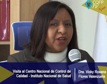 Visita al Centro Nacional de Control de Calidad - INS