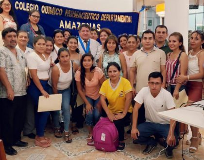 CQFP realizó Curso - Taller junto al CQF Departamental de Amazonas