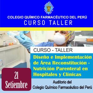 """Diseño e implementación de área """"Reconstitución - Nutrición Parenteral"""" en Hospitales y clínicas"""