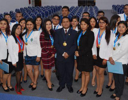Colegio Químico Farmacéutico de la Provincia Constitucional del Callao celebró colegiatura de nuevos agremiados