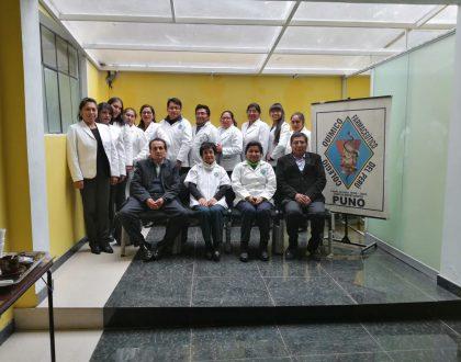 El Sistecere evaluó a 12 Químico Farmacéuticos en Puno