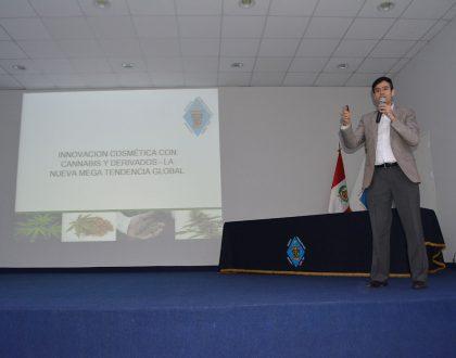 """CQFP realizó Conferencia """"Innovación Cosmética con Cannabis y Derivados. La Nueva Mega Tendencia Global"""""""