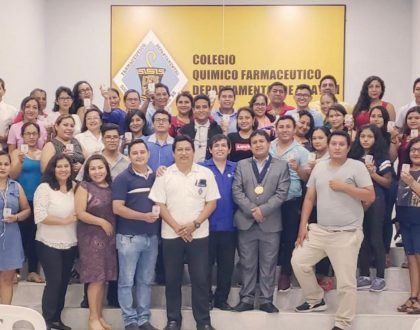 CQFP realizó curso junto al CQFD de Ucayali.