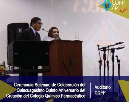 Celebración del 55 aniversario del CQFP