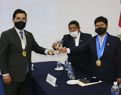 DECANO NACIONAL DEL CQFP FUE EL INVITADO ESPECIAL DE LA ASAMBLEA DEL CDCP