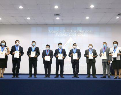 NUEVO CONSEJO DIRECTIVO NACIONAL 2021-2022 DEL CQFP FUE PROCLAMADO Y JURAMENTADO