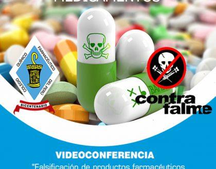 Conferencia Falsificación de productos farmacéuticos, dispositivos médicos y productos sanitarios.