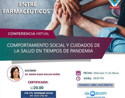 Comportamiento Social y Cuidados de la salud en tiempos de pandemia