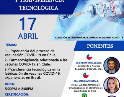 Vacunas Covid-19: Farmacovigilancia y Transferencia Tecnológica